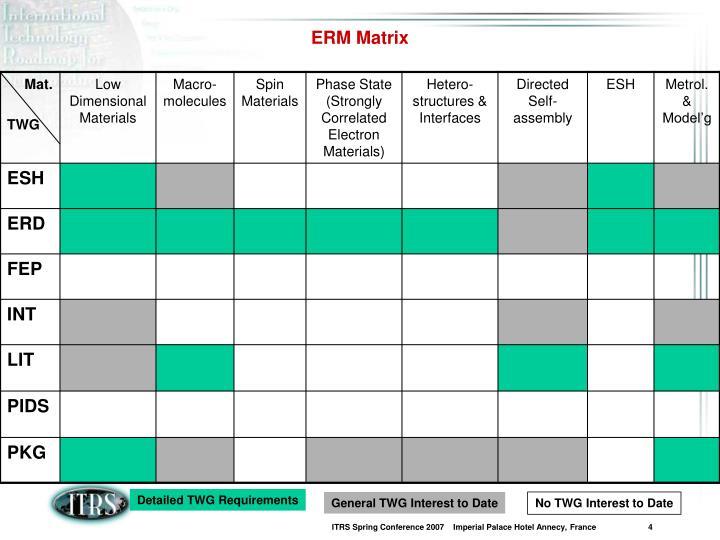 ERM Matrix