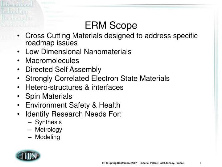 ERM Scope