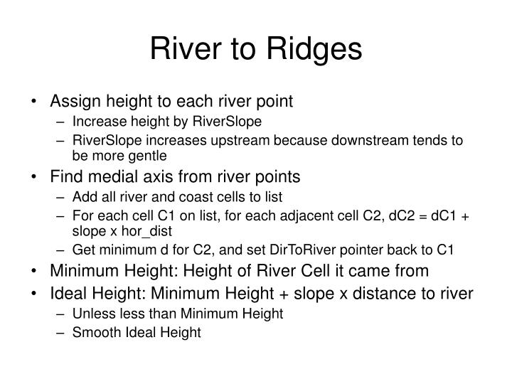 River to Ridges