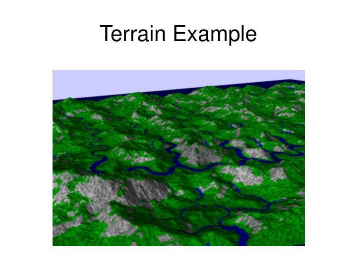 Terrain Example