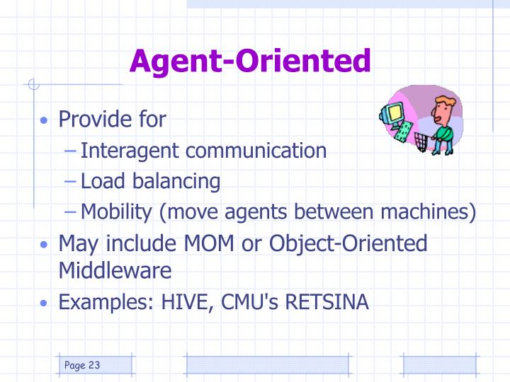 Agent-Oriented