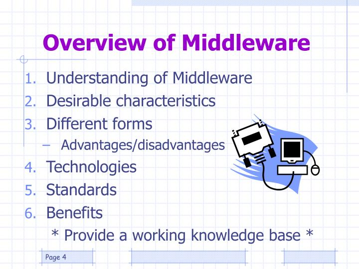 Overview of Middleware