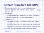 remote procedure call rpc