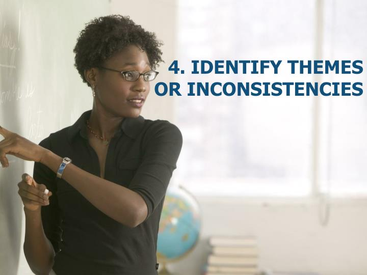 4. Identify themes