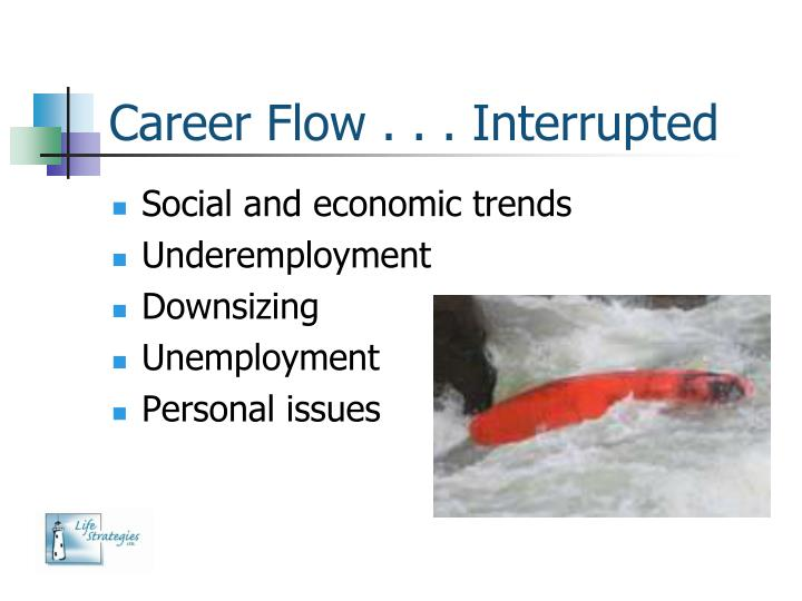 Career Flow . . . Interrupted