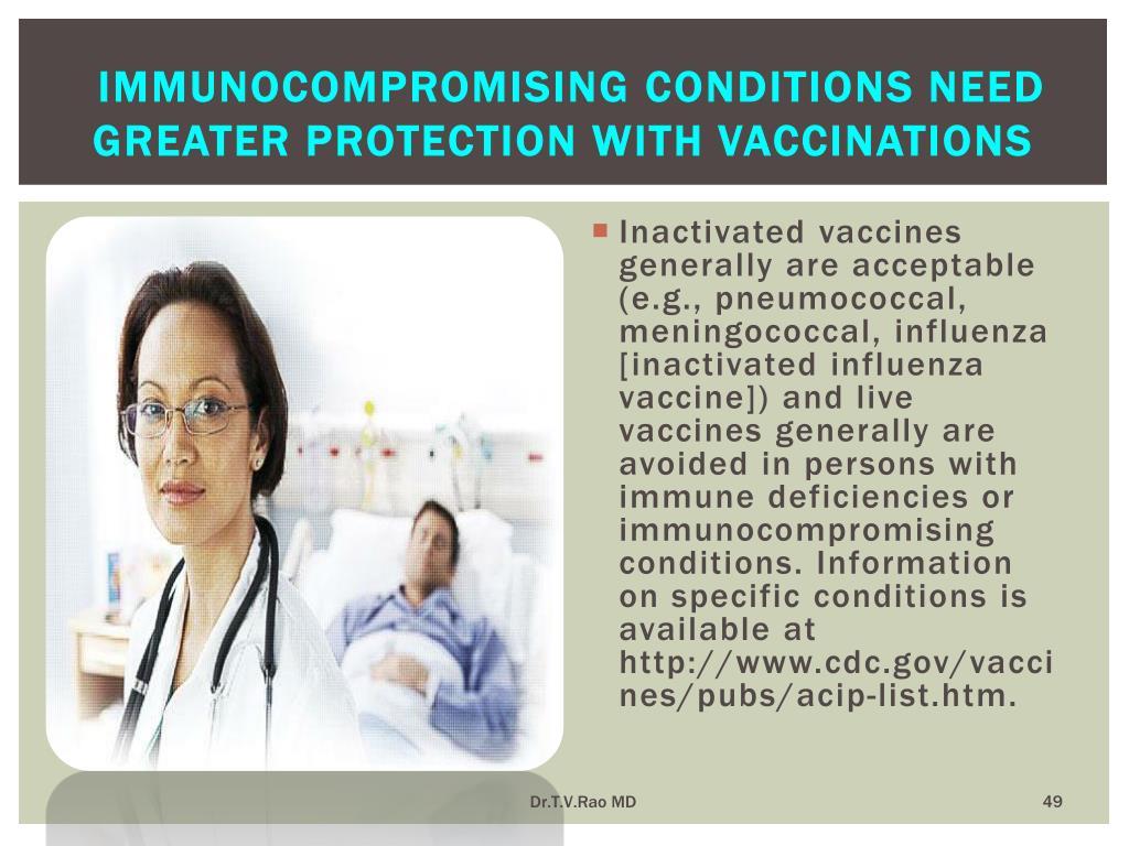 Immunocompromising