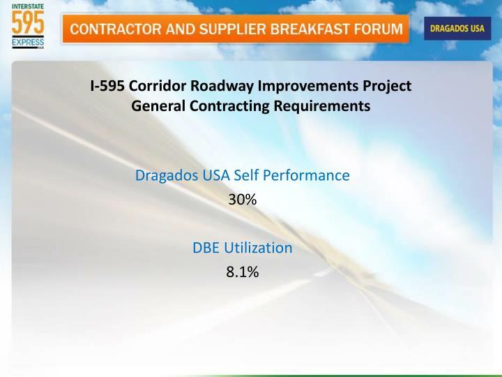 I-595 Corridor Roadway Improvements Project