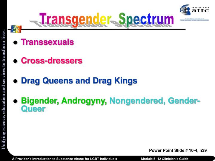 Transgender  Spectrum