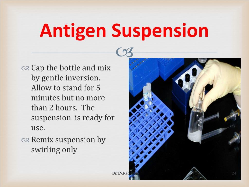 Antigen Suspension