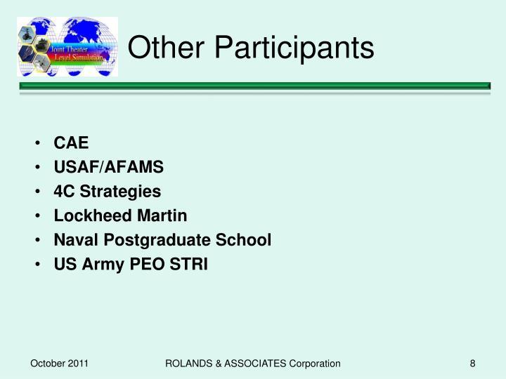 Other Participants
