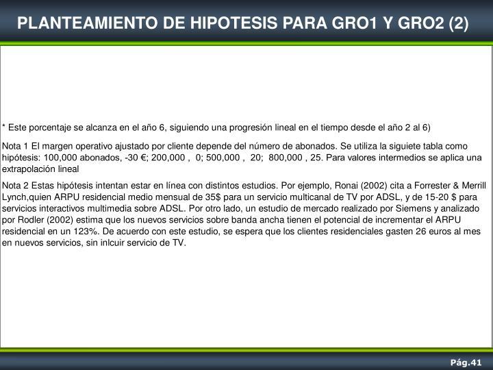 PLANTEAMIENTO DE HIPOTESIS PARA GRO1 Y GRO2 (2)