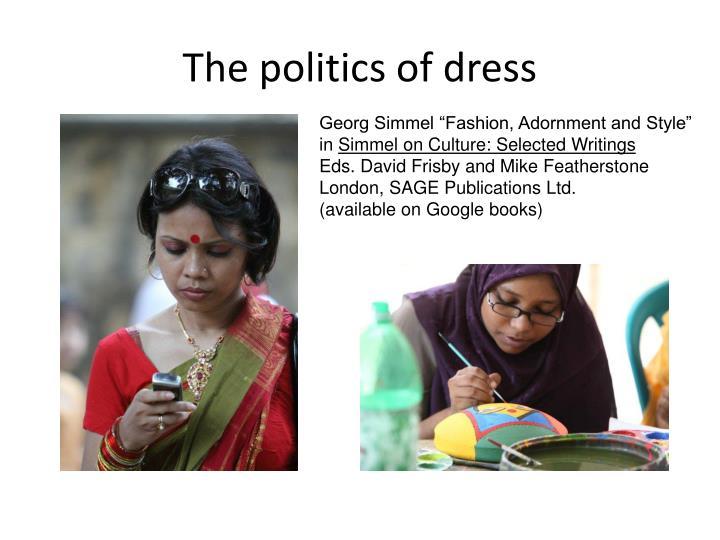 The politics of dress