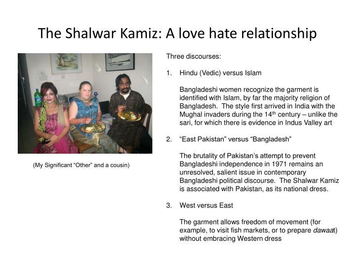 The Shalwar Kamiz: A love hate relationship