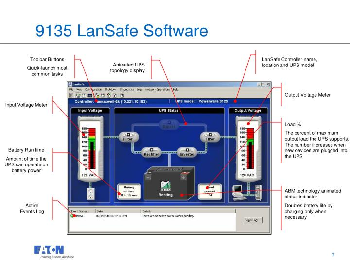 9135 LanSafe Software
