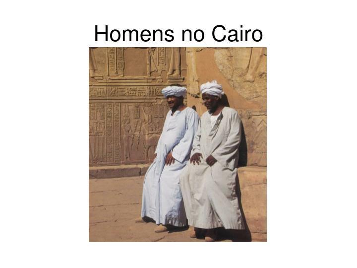 Homens no Cairo