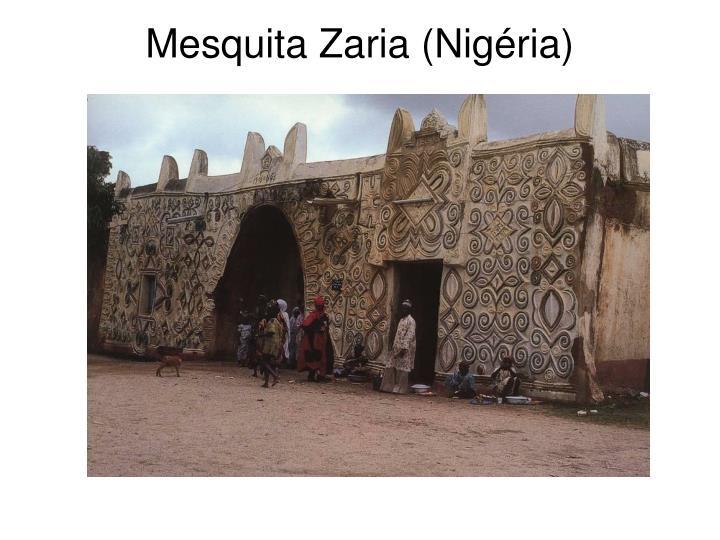Mesquita Zaria (Nigéria)