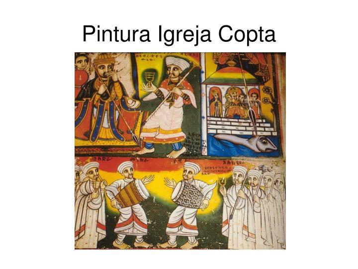 Pintura Igreja Copta