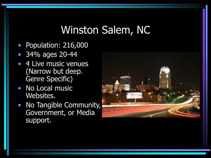 Winston Salem, NC