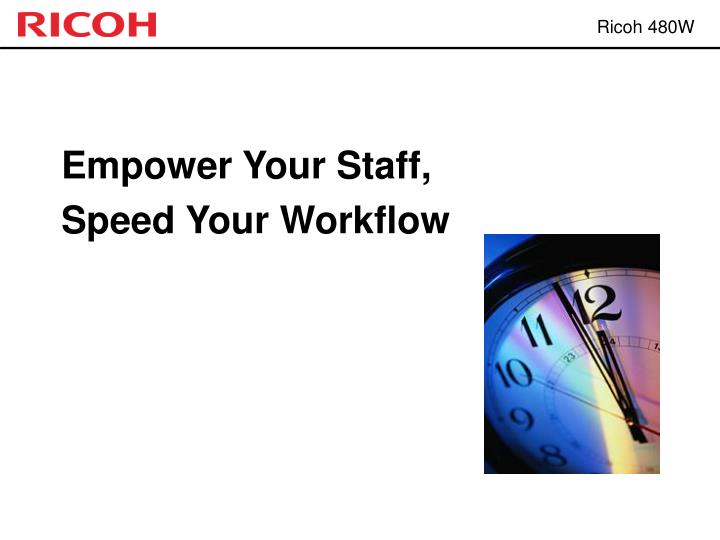Empower Your Staff,