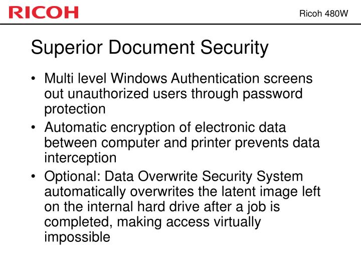 Superior Document Security