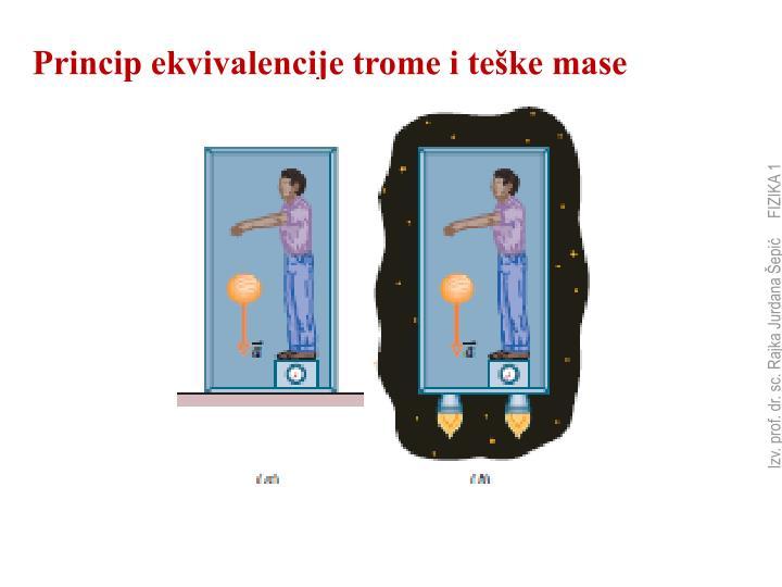 Princip ekvivalencije trome i teške mase