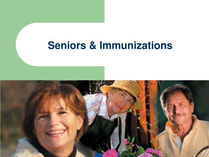 Seniors & Immunizations