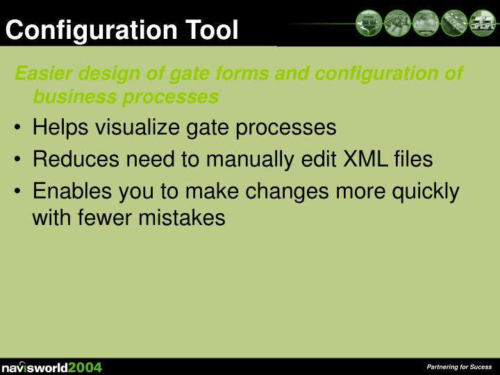 Configuration Tool