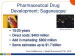 pharmaceutical drug development saganesque
