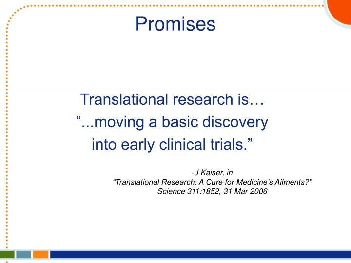 Translational research is…