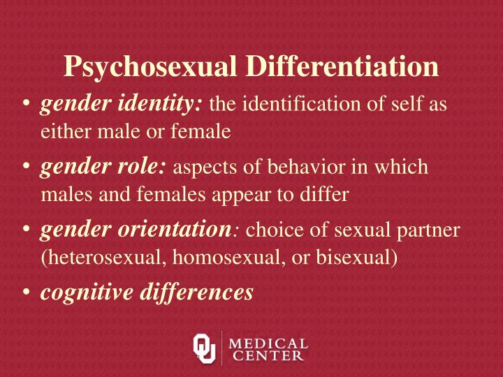 Psychosexual Differentiation