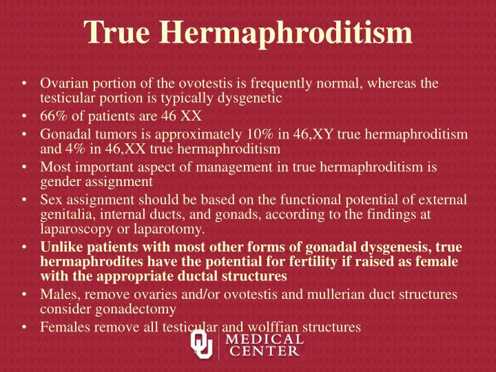 True Hermaphroditism