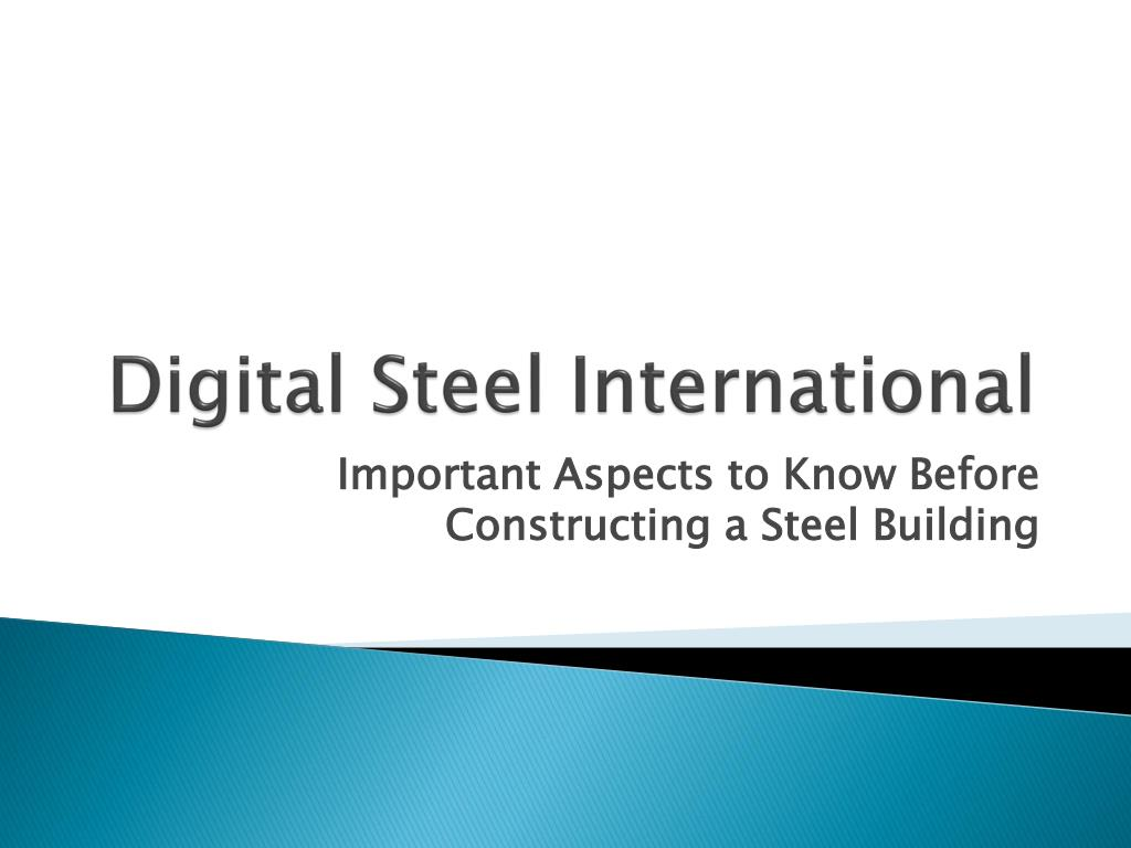 Digital Steel International
