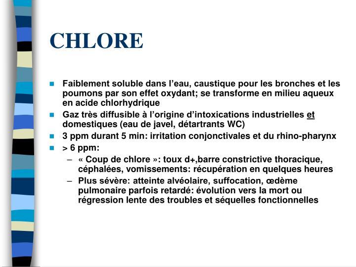 CHLORE