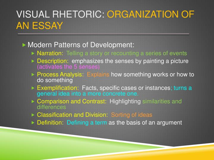 Visual rhetorics video essay