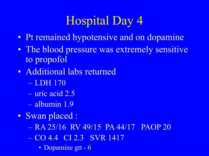 Hospital Day 4