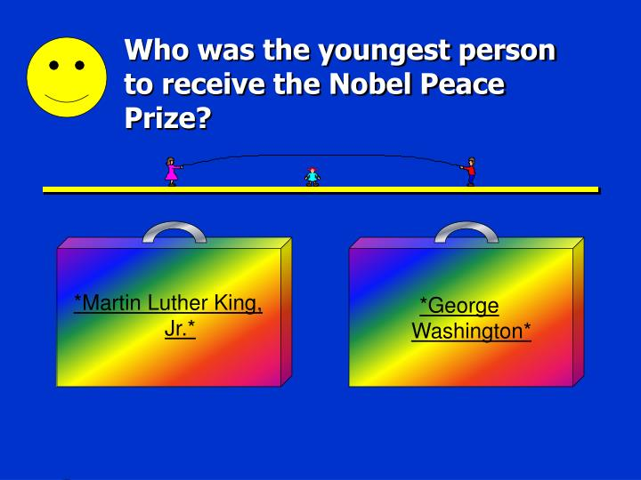 Who was the youngest person to receive the nobel peace prize
