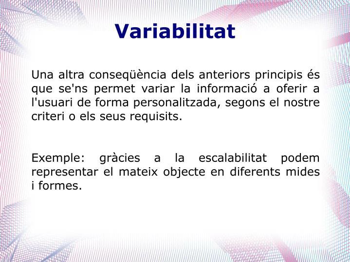 Variabilitat