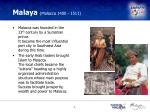 malaya malacca 1400 1511