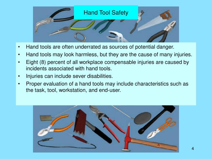 Hand Tool Safety