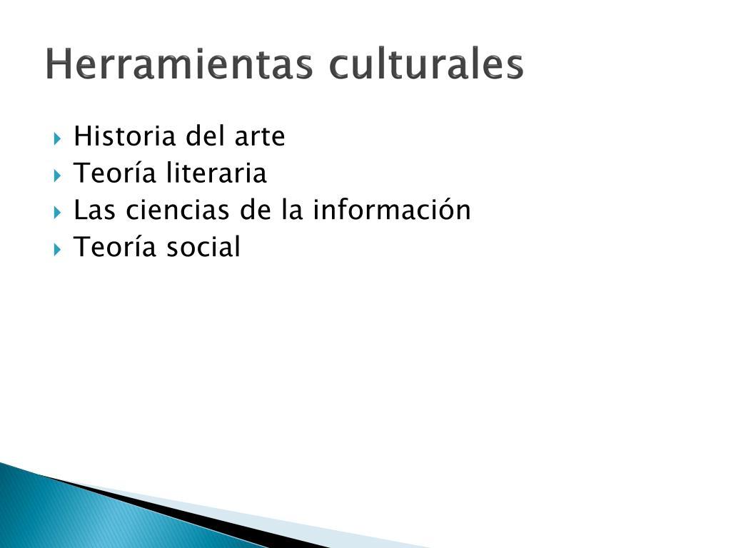 Herramientas culturales