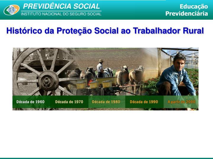 Histórico da Proteção Social ao Trabalhador Rural
