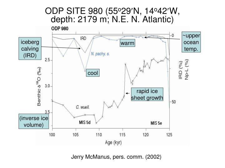ODP SITE 980 (55