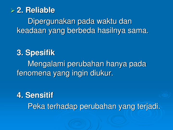 2. Reliable