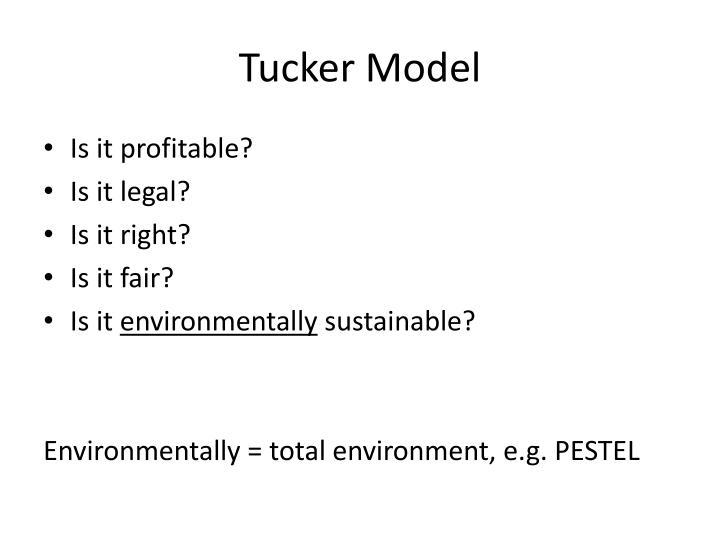 Tucker Model