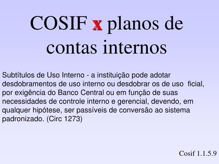 COSIF
