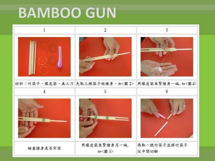 BAMBOO GUN