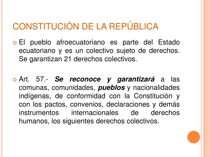 CONSTITUCIÓN DE LA REPÚBLICA