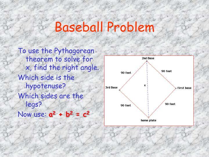 Baseball Problem