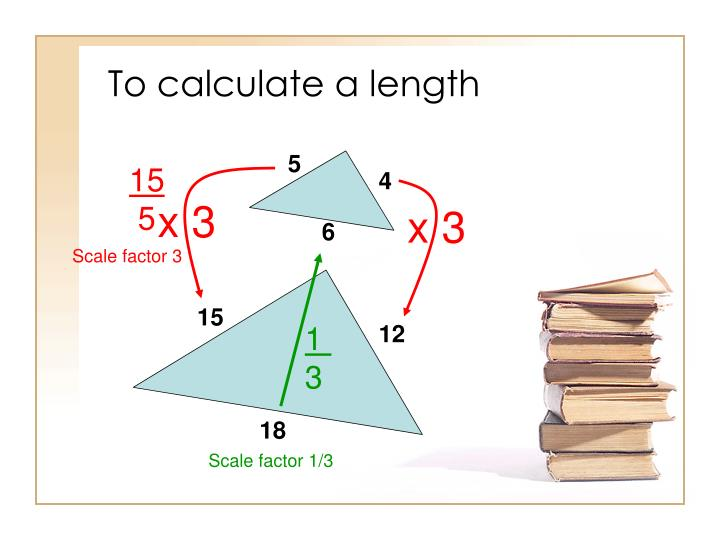 To calculate a length