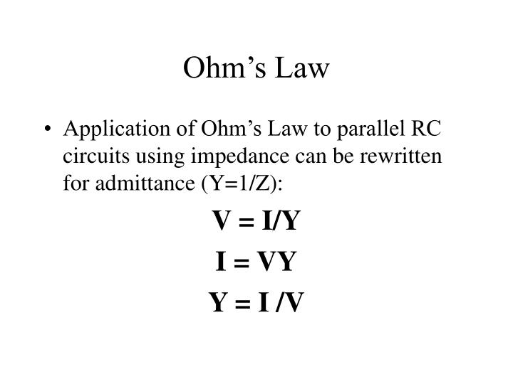 Ohm's Law
